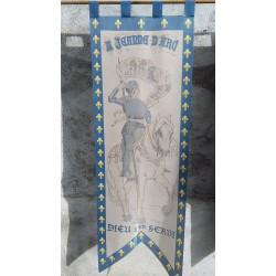 Bannière Sainte Jehanne d'Arc