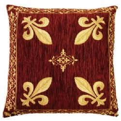 Housse coussin lys