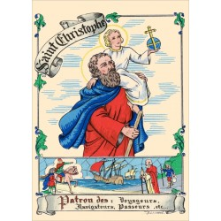 Carte postale Saint Christophe