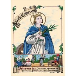 Carte postale Sainte Catherine