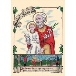 Carte postale Saint Joseph
