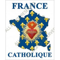 Autocollant France Catholique