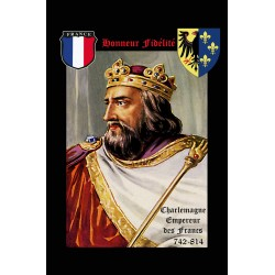 Autocollant Charlemagne...