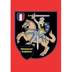Carte postale Honneur et...