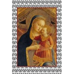 Carte postale Vierge à...