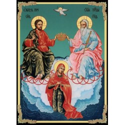 Carte postale Icône Saint...