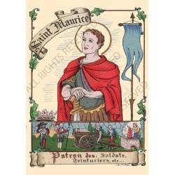 Carte postale Saint Maurice