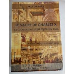 Le sacre du Roi Charles X