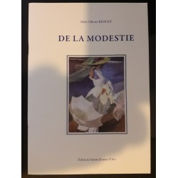 Brochure : DE LA MODESTIE