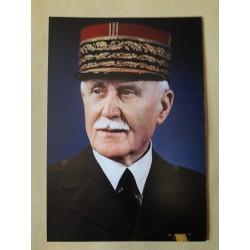 Portrait Maréchal Pétain
